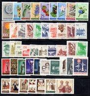 YUG1961 - YUGOSLAVIA 1961, L'annata Dei Commemorativi Senza BF E Posta Aerea Composizione Come Da Scan ***  MNH - Annate Complete