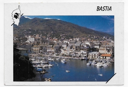 (RECTO / VERSO) BASTIA - LE VIEUX PORT - CPM GF VOYAGEE - Bastia