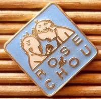 Joli Pin's Rose & Chou, émail Grand Feu, TBQ, Pins Pin. - Trademarks
