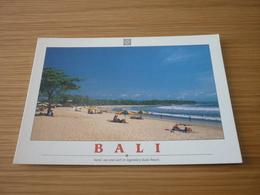 Kuta Beach Sand Sea Surf Indonesia Bali Postcard Carte Postale - Cartes Postales