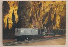Slovenia - Cartolina Viaggiata Per L'Italia Animata Trenino Delle Grotte Di Postumia - 1969 *G - Slovenia