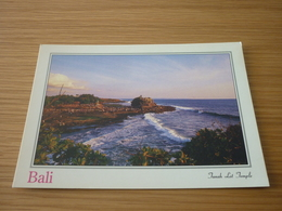 Janah Lot Temple Indonesia Bali Postcard Carte Postale - Cartes Postales