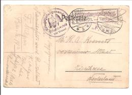 WO1 Kriegsgefangene.POW.Friedrichsfeld Bei Wesel>Zierikzee Holland - 1. Weltkrieg