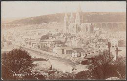 Truro City & Cathedral, Cornwall, C.1910 - Bragg RP Postcard - England
