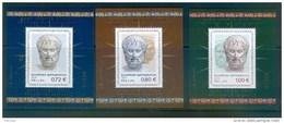 Greece, Yvert No 103/105, MNH Or Used - Blokken & Velletjes