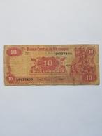 NICARAGUA 10 CORDOBAS 1979 - Nicaragua