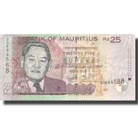 Billet, Mauritius, 25 Rupees, 2006, 2006, KM:42, TTB - Maurice