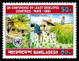 Bangladesh, 1981, United Nations Conference On Least Developed Countries, MNH, Michel 158 - Bangladesh