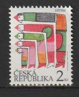 MiNr. 44 Tschechische Republik:  1994, 1. Juni. Weltkindertag. - Tschechische Republik