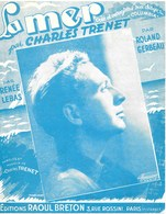 LA MER .  Charles  TRENET . - Partitions Musicales Anciennes
