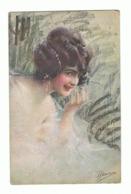 Portrait De Femme, Frau, Lady - Illustrateur Guerinoni - 1920 (649a) Fr70 - Guerinoni