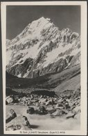Mount Cook, Southern Alps, C.1950 - RP Postcard - New Zealand
