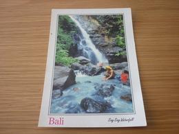Sing Sing Waterfall Indonesia Bali Postcard Carte Postale - Cartes Postales