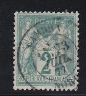 France, Sage, Type II,  N° 74, Càd  Cambrai   , Cote 30€ ( 181007/8.1) - 1876-1898 Sage (Type II)