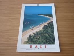 Sanur Beach Palm Trees Palm Windsurf Indonesia Bali Postcard Carte Postale - Cartes Postales