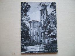 1958 - Imola - Chiesa Di S. Domenico - Abside E Campanile  Cartolina Storica Originale Firmata Dal Grande Angelo Banzola - Imola