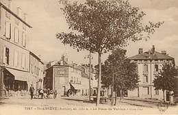 07 Saint Agreve  Place De Verdun - Saint Agrève