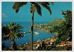 FUNCHAL      VISTA  OESTE              (VIAGGIATA) - Madeira