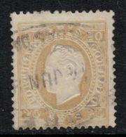 Portugal // 1870-1880 // 20r Bistre - 1862-1884 : D.Luiz I