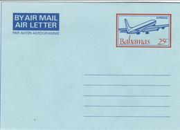 Bahamas - Aerogramme - Unused - Airplanes