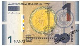 AZERBAIJAN 1 MANAT 2017 Pick New Unc - Azerbaïdjan