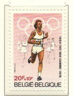 PIA - BELGIO -1980 : In Onore Di Ivo Van Damme Medaglia Olimpica Alle Olimpiadi Di Vancouver - (Yv  1972  ) - Estate 1976: Montreal