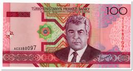 TURKMENISTAN,100 MANAT,2005,P.18,UNC - Turkmenistan