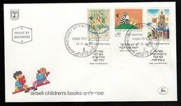 ISRAEL FDC ISRAELI CHILDREN'S BOOKS * 1984 - FDC