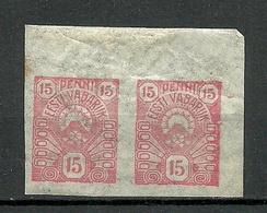 ESTLAND ESTONIA 1919 Michel 9 In Pair MNH - Estland