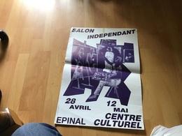Affiche Salon Indépendant Centre Culturel Épinal - Affiches