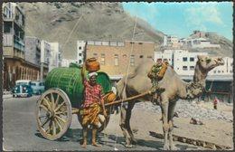 Arab Water Seller, Crater, Aden, 1962 - Dick Ketchian Postcard - Yemen