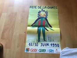 Affiche Fête De La Santé Dans Les Vosges - Affiches