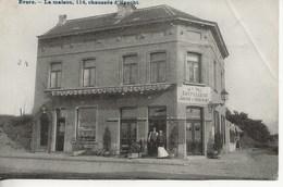 Evere-La Maison,114,chaussée D'Haecht.(Pli Partie Sup.droit). - Evere