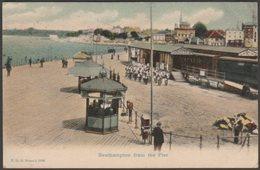 Southampton From The Pier, Hampshire, 1908 - FGO Stuart Postcard - Southampton
