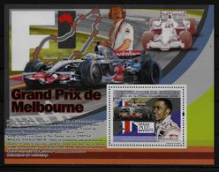 GUINEE BF  913 * *  ( Cote 13e ) Automobile Formule 1 Hamilton - Cars