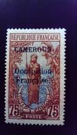 Cameroun Cameroon 1916 Guerrier Warrior Surchargé Overprint CAMEROUN Occupation Française Yvert 80 Sans Gomme No Gum - Unused Stamps