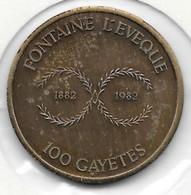50 GAYETTES 1982  FONTAINE L' EVEQUE - Gemeentepenningen