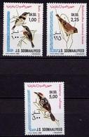 Somalia  Vögel Birds Wildlife 1980 ** Mi.  294-296  (9479 - Vögel