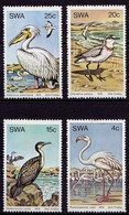SWA Vögel Birds Wildlife 1979  Mi. 458-461 (9482 - Birds
