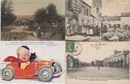 TRES JOLI LOT  100 CARTES TTES SCANNEES  DEPART 1 EURO - Cartes Postales