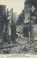 Campagne De 1914 - Bombardement D'Anvers - Maison Détruite  (FR-067 - Antwerpen