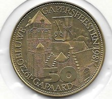 50 GAPAARD  1981 - Jetons De Communes