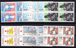 FRANCE 1982 .DIVERS  YVERT Nº2197+2198+2201+2202+2203+2204 .BLOC DE 4 . MNH. NEUF SANS CHARNIERE.CECI 2 Nº 66 - Francia