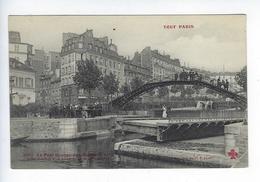 CPA Paris X Tout Paris Le Pont Grange Aux Belles Quai Valmy Collection Fleury - Distretto: 10