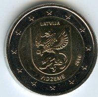 Lettonie Latvia 2 Euro 2016 Vidzeme UNC - Lettonie