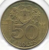 50 KAROLUS 1980 GOSSERLIES - Jetons De Communes