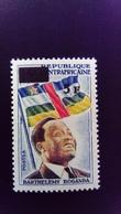 République Centrafricaine 1965 Boganda Politique Politician Surchargé Overprint Yvert 62 ** MNH - Repubblica Centroafricana