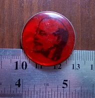 PROPAGANDA Lenin Communist Party Soviet Union Metal Badge Pin USSR - Associations