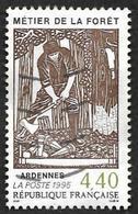 FRANCE  1995  -  Y&T  2943  -  Métiers De La Forêt  - Oblitere - Gebraucht
