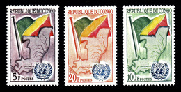 Congo Brazzaville 1961: N° 139/41** / TTB - Mint/hinged